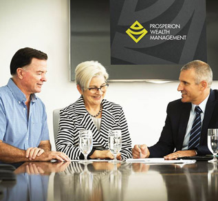 At Prosperion Wealth Management we create a tailored strategy for our clients based on their wealth objectives and risk profile.
